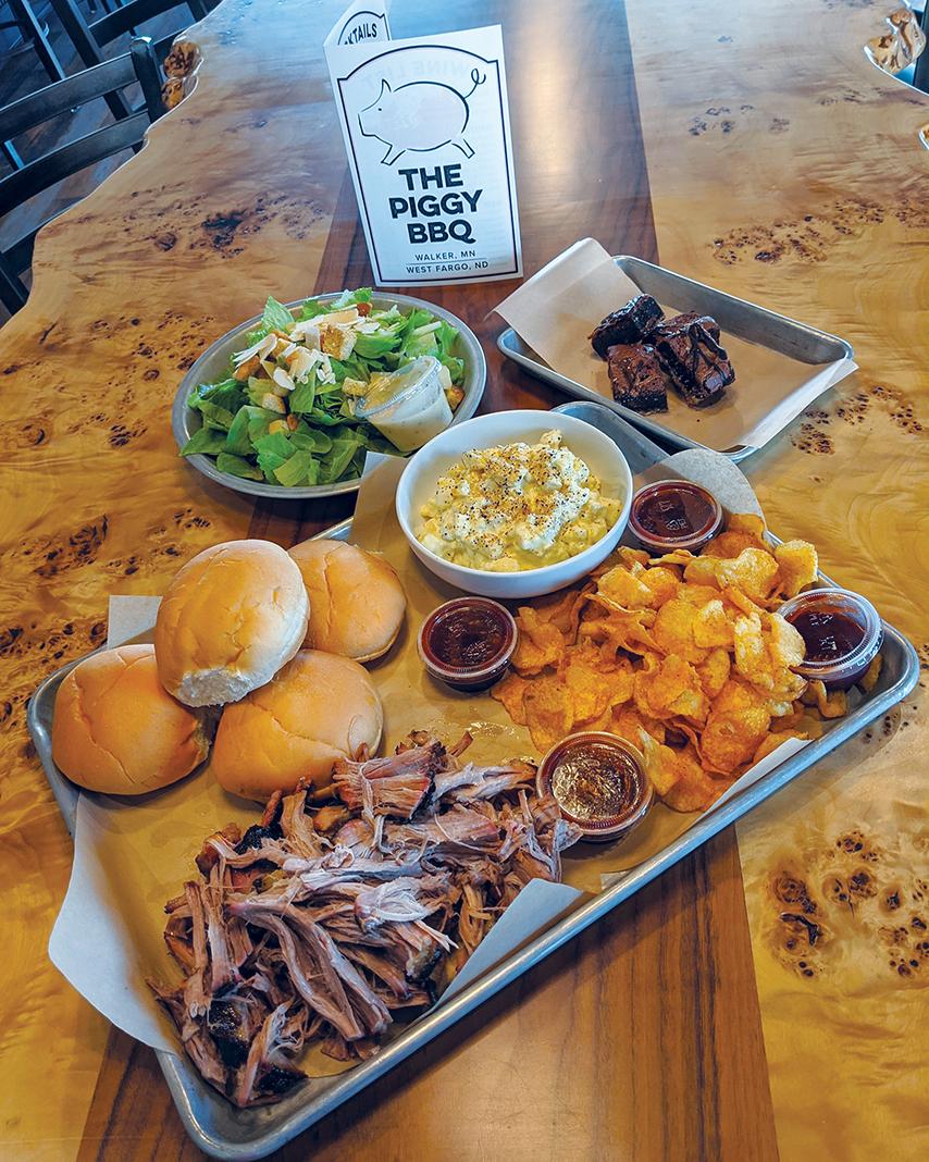 The Piggy BBQ in Walker