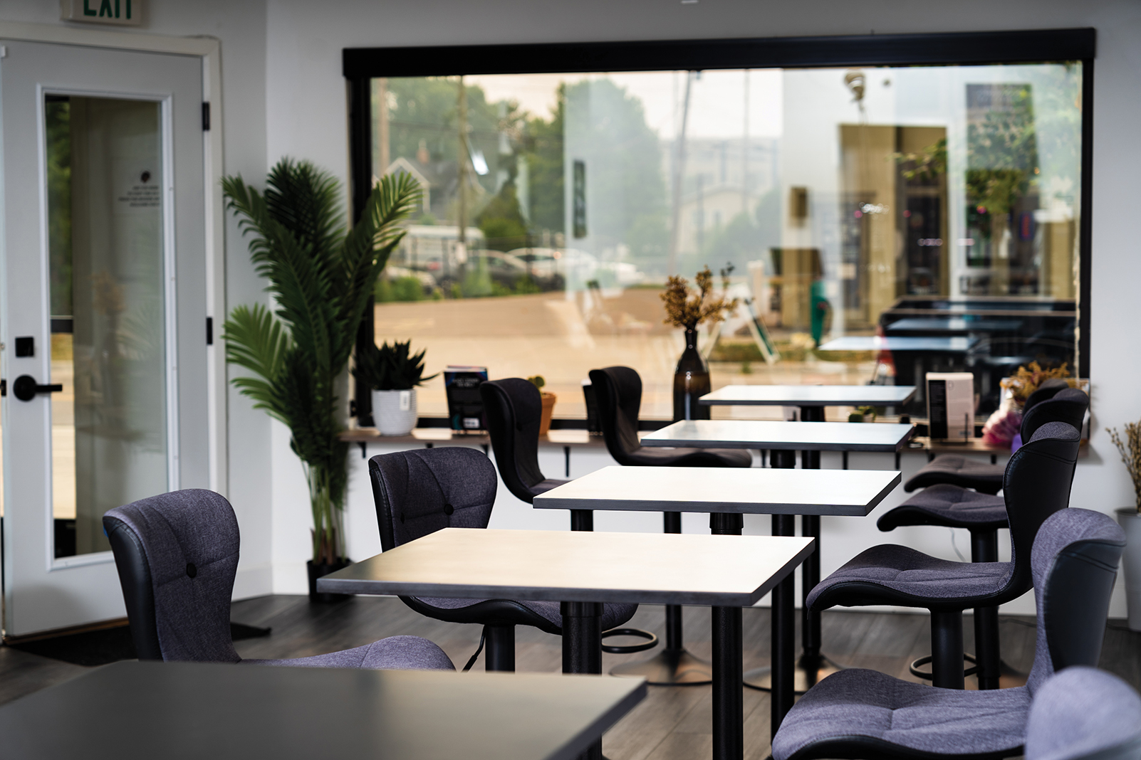 Black Table Arts' café-style room