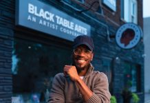 Black Table Arts founder Keno Evol says he opened the arts cooperative in south Minneapolis as an extension of the recent local racial justice movement