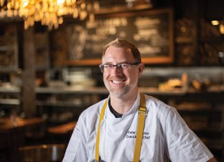 Butcher and head chef Peter Botcher