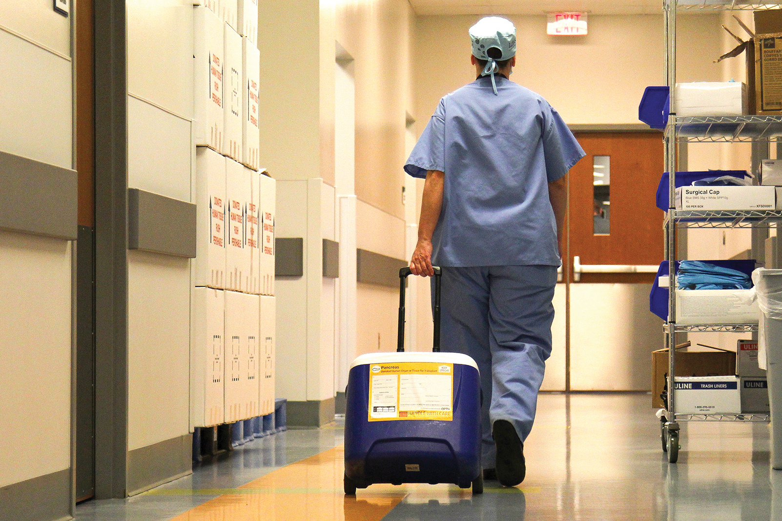 Organ transplantation has taken new strides with the University of Minnesota's Institute for Engineering in Medicine